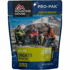Mountain House Spaghetti w/Meat Sauce Pro-Pak 1-Serve Freeze Dried Camping Food