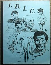 "Star Trek TOS TNG Fanzine ""I.D.I.C. 1"" Gen Vintage IDIC"