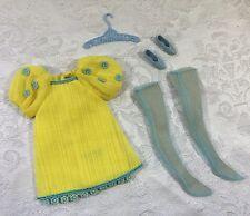 Vintage Barbie 1969 Francie Yellow Bit Outfit Complete #1223