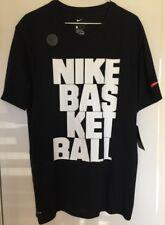 1e32a767e1dcf Новый с ценниками ~~ Nike мужская черная круглой горловиной спортивным  срезом Dri-FIT футболка ~~ размер L