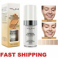 Pro Classic 30ml TLM Color Changing Foundation Magic Liquid Concealer Makeup