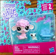 🐾Sheep & Cow Littlest Pet Shop Series 2 Petula & Jersey #98-99 LPS🐾