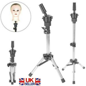 Head Hairdressing Clamp Stand Practice Hair Training Mannequin Model Wig Holder