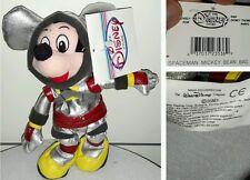 SPACEMAN MICKEY MOUSE DISNEY STORE PLUSH - 20Cm. - Peluche Bean Bag Toy Topolino