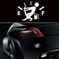 Creative Pull Fuel Tank Pointer To Full Funny Hellaflush Vinyl Car Sticker Decal