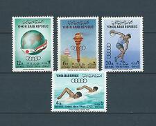 YEMEN - 1964 YT 27 à 30 - POSTE AERIENNE - TIMBRES NEUFS** MNH LUXE