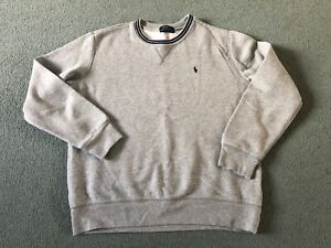 Boys Polo Ralph Lauren Grey Sweatshirt (14-16)
