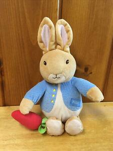 Eden Plush Beatrix Potter Musical Peter Rabbit Wind Up Key Toy