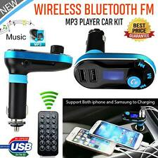 FM Transmitter MP3 Player Wireless Bluetooth Car Kit Charger for iPhone Samsung