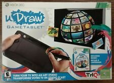uDraw GameTablet (Microsoft Xbox 360, 2011) with game disc + extra title.Tested.