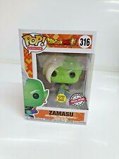 NEW Funko POP Dragon Ball Z Zamasu #316 Glow in the Dark Rare Collectable Figure