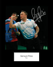 GERWYN PRICE #2 Signed 10x8 Mounted Photo Print - FREE DELIVERY