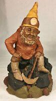 ROCKY 1980~Tom Clark Gnome-Figurine~Cairn Item #132~Retired~Ed #54~Signed~Story