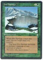 HOT SPRINGS Ice Age MTG Card Single Green WOTC Magic:The Gathering RARE