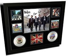 THE BEATLES FRAMED SIGNED LIMITED EDITION MEMORABILIA