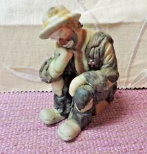 Emmitt Kelly Jr. Sleepy Clown Red Cross Flambro Miniature Figurine Collection