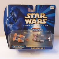 Star Wars Episode I Micro Machines Podracers Pod Racers 2 Hasbro Galoob figure