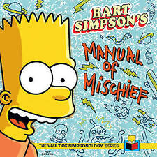 Bart Simpson's Manual of Mischief-ExLibrary