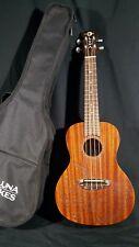 Luna Model UKE TC MAH Tattoo Mahogany Concert Size Acoustic Ukulele with Gig Bag