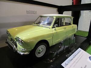 CITROEN AMI 6 de 1964 jaune au 1/18 NOREV 181535 voiture miniature de collection