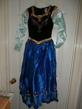 Disney Frozen ANNA Costume Girl's M Medium 8-10