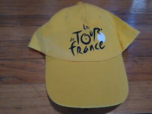 Le Tour de France Cycling Trucker Ball Podium Cap Hat: New Yellow