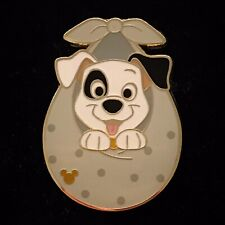 New Hkdl Baby Patch Pup 101 Dalmatians Dog Blanket Game Hidden Mickey Disney Pin