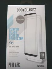 New BodyguardZ Curved Glass Screen Protecter For Samsung N8