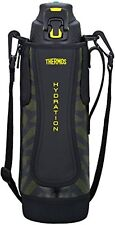 Thermos vacuum insulation sports bottle 1.5L black yellow FFZ-1501F BKY F/S NEW