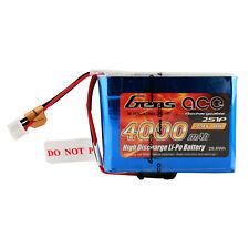 Gens ace 7.4V 2S 4000mAh RX Lipo Batería Para Spektrum DX9 DX8 DX7S DX7