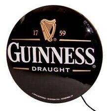 Licensed Guinness 20� Single Sided Wall Hanging Lightbox - New In Box
