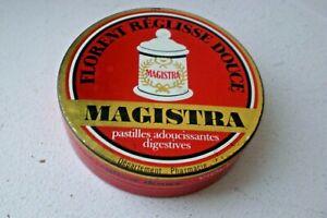 ancienne boîte pastilles FLORENT MAGISTRA réglisse douce à la violette pharmacie