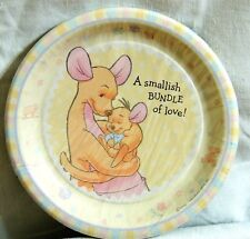 "~WINNIE THE POOH~ BABY ROO  8-SMALL  PAPER  PLATES 6-3/4""   PARTY SUPPLIES"