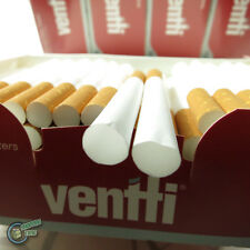 500x VENTTI EMPTY Tobacco Cigarette filter tubes comes with a free tube injector