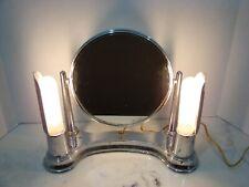 Art Deco 1930's Chrome Bel Ayre Swivel Vanity Light Mirror