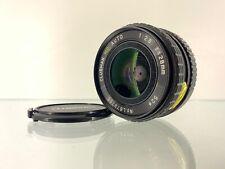 Clubman 28mm f/2.8 Wide Angle Lens for Pentax K Mount 35mm Film SLR Cameras - JS