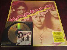 MONTROSE WITH SAMMY HAGAR LIMITED EDITION 24 KARAT GOLD HD CD + DOUBLE VINYL LP