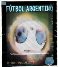 Argentina 2013 Torneo Inicial Soccer Sticker Pack