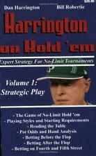 Harrington on Hold em Expert Strategy for No Limi