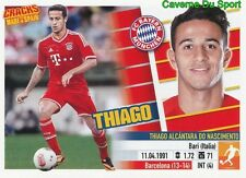 THIAGO ALCANTARA BAYERN MUNCHEN RARE CRACKS MADE IN SPAIN STICKER PANINI 2014
