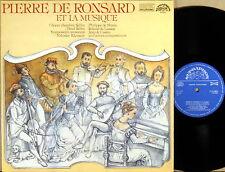 RARE SUPRAPHON DIGITAL De Ronsard A HUDBA ET LA MUSIQUE 1112 3883 NM-