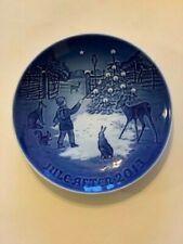 4 Vintage B&G Bing And Grondahl Juleaften 7� Christmas Plates Denmark Porcelain