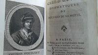 Chefs-d'Oeuvres dramatiques de Houdard de La Motte 1791