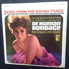 Of humage Bondage Film Bande Originale OST LP RON GOODWIN Somerset Maugham Kim Novak
