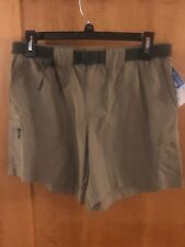 Columbia Womens Walnut River Cargo Shorts Tusk Small