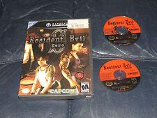 kk Resident Evil 0 (Nintendo GameCube, 2002) Free Domestic Shipping