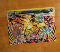 NM Pokemon YVELTAL BREAK Card STEAM SIEGE Set 66/114 XY X and Y Ultra Rare Holo