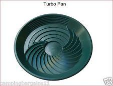 "Turbo Pan Green 16"" Plastic Gold Pan Sluice Panning Prospecting Gem Turbopan"