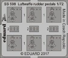 Eduard Zoom SS598 1/72 Luftwaffe rudder pedals