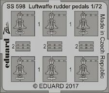 Eduard Zoom SS598 1/72 Luftwaffe gouvernail pédales